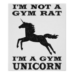 gym unicorn